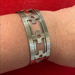 Silver (925) Cuff Bracelet